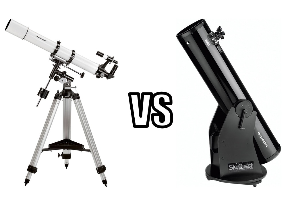 Refractor vs Reflector Telescope - What Is The Difference?