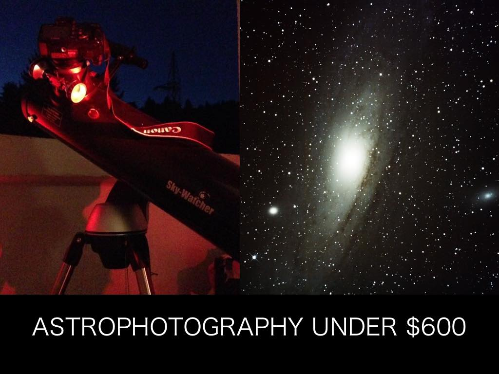 Budget Astrophotography With a Telescope and DSLR Camera