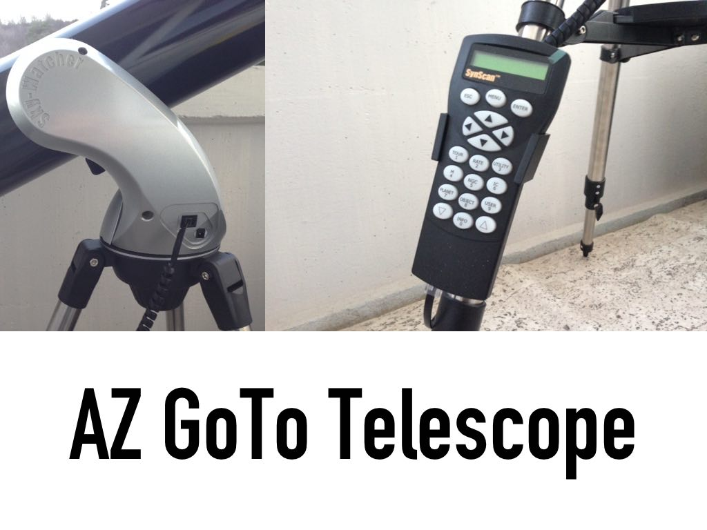 How To Use AZ GoTo Computerized Telescope - Beginner Guide